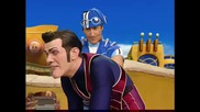 Lazytown Dancing High Quality
