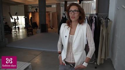 Никол Станкулова за Fashion Days