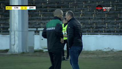 Емил Стоев не остави шанс на вратаря на Дунав