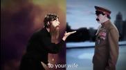 Rasputin vs Stalin Epic Rap Battles Of History Season 2 Finale kato Kurban Rap