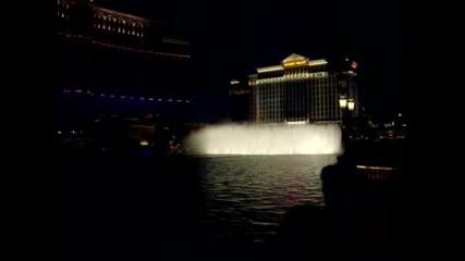 Фонтаните На Belagio Las Vegas