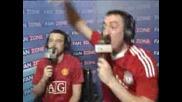 Fanzone Manchester United vs Liverpool 1 - 4