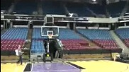 Dude Perfect™ and Tyreke Evans 6 - From the Stands Shot