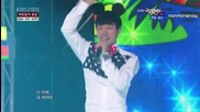 Beast ( Ki Kwang) , Shinee ( Key) & Ze: A (kwanghee) - Magic Girl (special stage) (live at Music Ban
