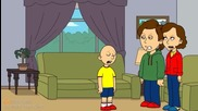 caillou Goes To Chuck E Cheese's While Grounded!