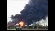 41 са вече жертвите на взрива в рафинерия във Венецуела, Чавез посети мястото на трагедията