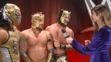 Lucha House Party are all about unpredictability: WWE.com Exclusive, Nov. 19, 2018