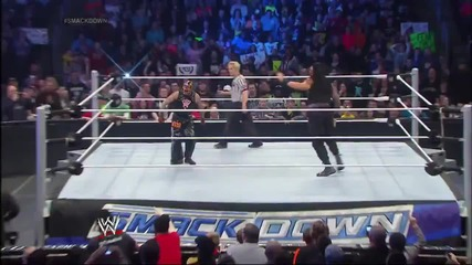 Разбиване 31.01.14:daniel Bryan, Sheamus & Rey Mysterio vs. The Shield