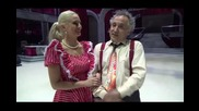 Dancing Stars - Отпадналата двойка Бате Енчо и Петя (13.03.2014г.)