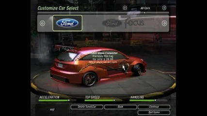 Need For Speed Underground 2 My Cars Vbox7