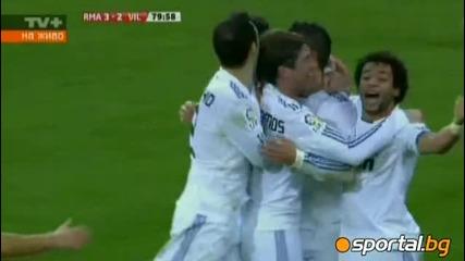Реал Мадрид обърна Виляреал в зребищен двубой, Роналдо вкара 3 + асистенция за гол на Кака - 4:2