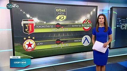 Спортни новини на NOVA NEWS (23.09.2021 – 20:00)