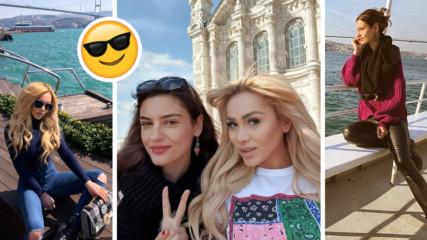 Неочаквано приятелство: Нора Недкова в Истанбул с VIP женска компания!