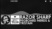 [glitch Hop - 110bpm] - Pegboard Nerds & Tristam - Razor Sharp [monstercat Release] (1)