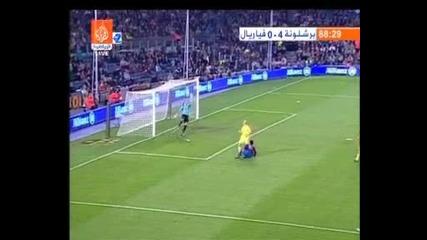 Роналдиньо вкарва седемдесетият си гол за Барселона!