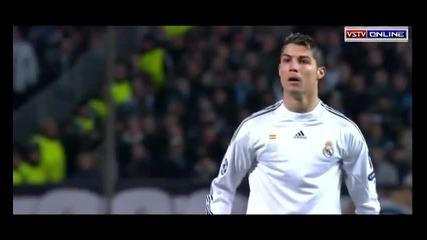 Кристиано Роналдо - Свободен удар инстркцията | 2010 Реал Мадрид