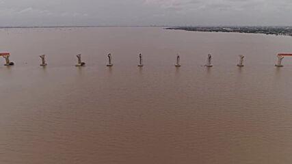 Sudan: Nile River bursts banks amid torrential rains in Khartoum
