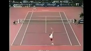 Federer vs. Roddick (basel 2002) - best return game ever