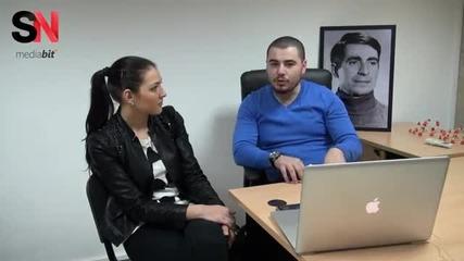 """Интервю с Кристалин Чавдаров относно It състезанието """"аз мога Тук и Сега"""""""