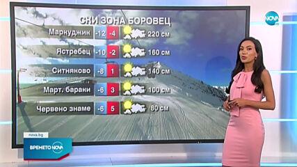 Прогноза за времето (10.04.2021 - обедна емисия)