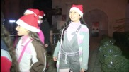 Syria: Damascenes celebrate Christmas Eve with Santa Claus