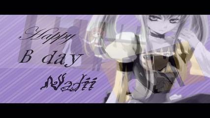 Happy B-day Nadii ^^