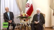 Iran: French FM meets Rouhani, Zarif in Tehran