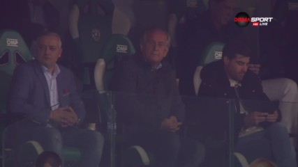 Спас Русев на дербито между Лудогорец и Левски