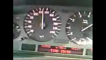 Bmw 750i 0 - 200kmh