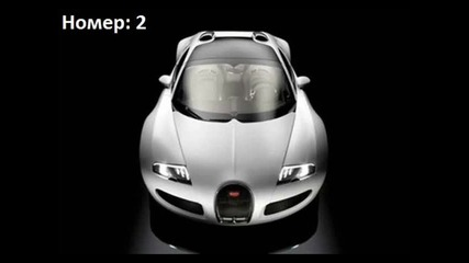 10-те най-скъпи автомобили на света