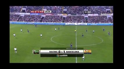 Racing - Barcelona 0 - 1 Ibrahimovic
