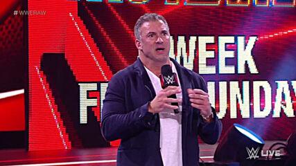 Shane McMahon provokes Braun Strowman: Raw, Mar. 8, 2021
