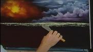 S03 Радостта на живописта с Bob Ross E08 - нощна светлина ღобучение в рисуване, живописღ