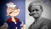 Топ 5 анимационни героя, базирани на реални хора!