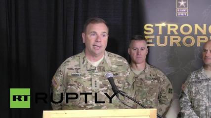 Germany: US-led regional forces training exercises kick-off in Hohenfels