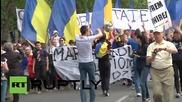 Антиправителствени протести в Кишинев