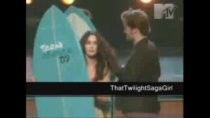 Megan Fox and Robert Pattinson Mtv