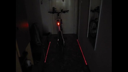 Led Bike light + lasers