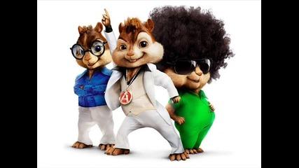 Смях ! Chipmunks - Джони, Хасан ти краде тока! ( Loca People )