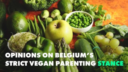 Does the world agree with Belgium on Vegan kids?