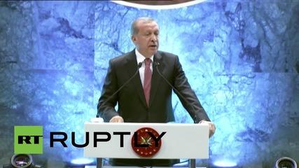 Turkey: Erdogan slams EU's 'inhumane' refugee policy