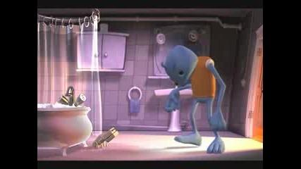 3D Animation - Bath Time