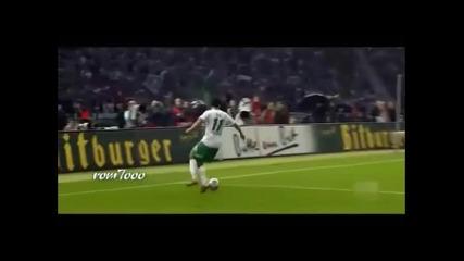 Месут Йозил невероятно топка контрол