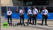 Switzerland: See FIFA HQ scuffles as pro-Palestinian activists call for Israeli boycott