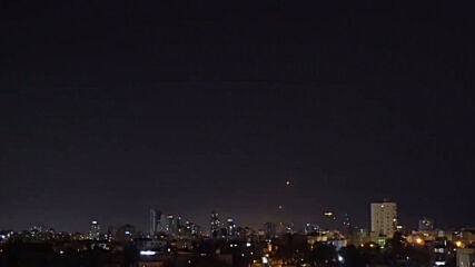Israel: Iron Dome seen taking out rockets fired from Gaza