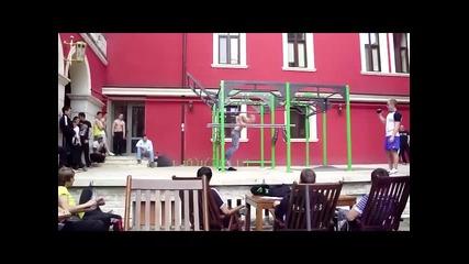 Денчо Михайлов Street Fitness