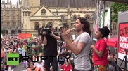 UK: Russell Brand blames bad sex and unchecked egos for austerity
