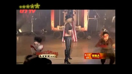 Britney Spears - Circus - Live On Good Morning America - High Quality