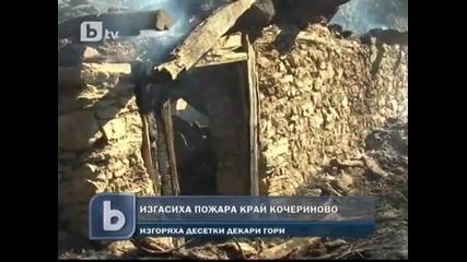 btv - 200 декара горa изгоряха край село Фролош