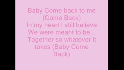 Vanessa Hudgens - Come Back To Me[tekst]